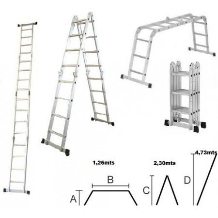 escalera escalera aluminio escalera multiforma escalera