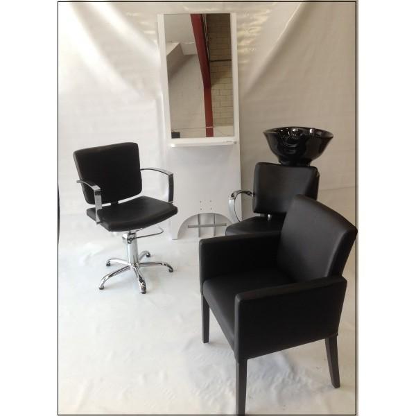 Lavacabezas silla de peluqueria tocador tocadores lava cabezas sillas de estetica - Sillon de espera para peluqueria ...