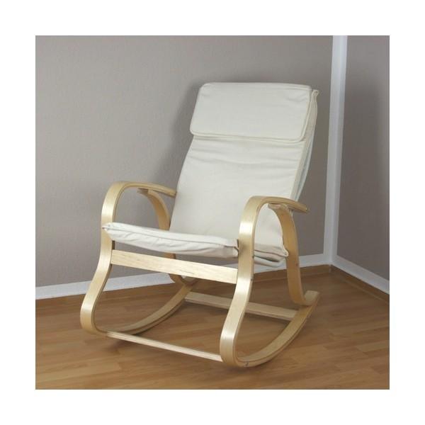 Mecedora butaca silla sill n relax for Sillon relax madera